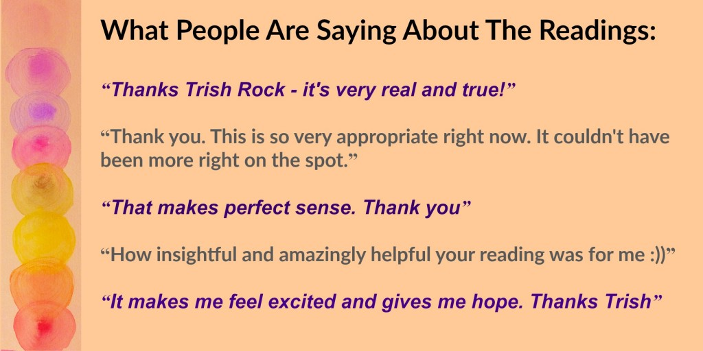 www.trishrock.com reading testimonials