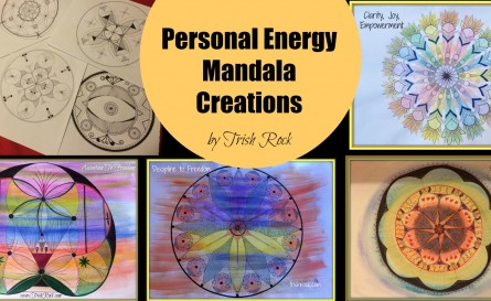 Mandala, Chakra energy, personal energy, vibrational mandalas