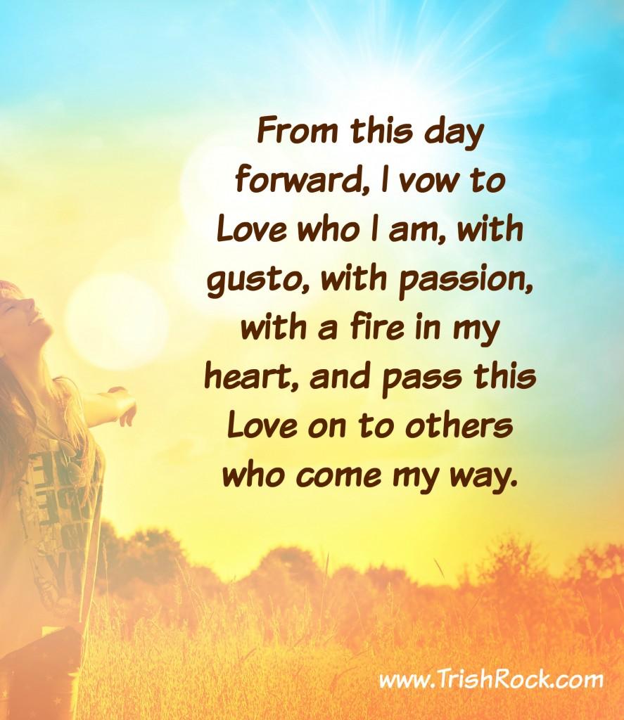 www.TrishRock.com vow of love