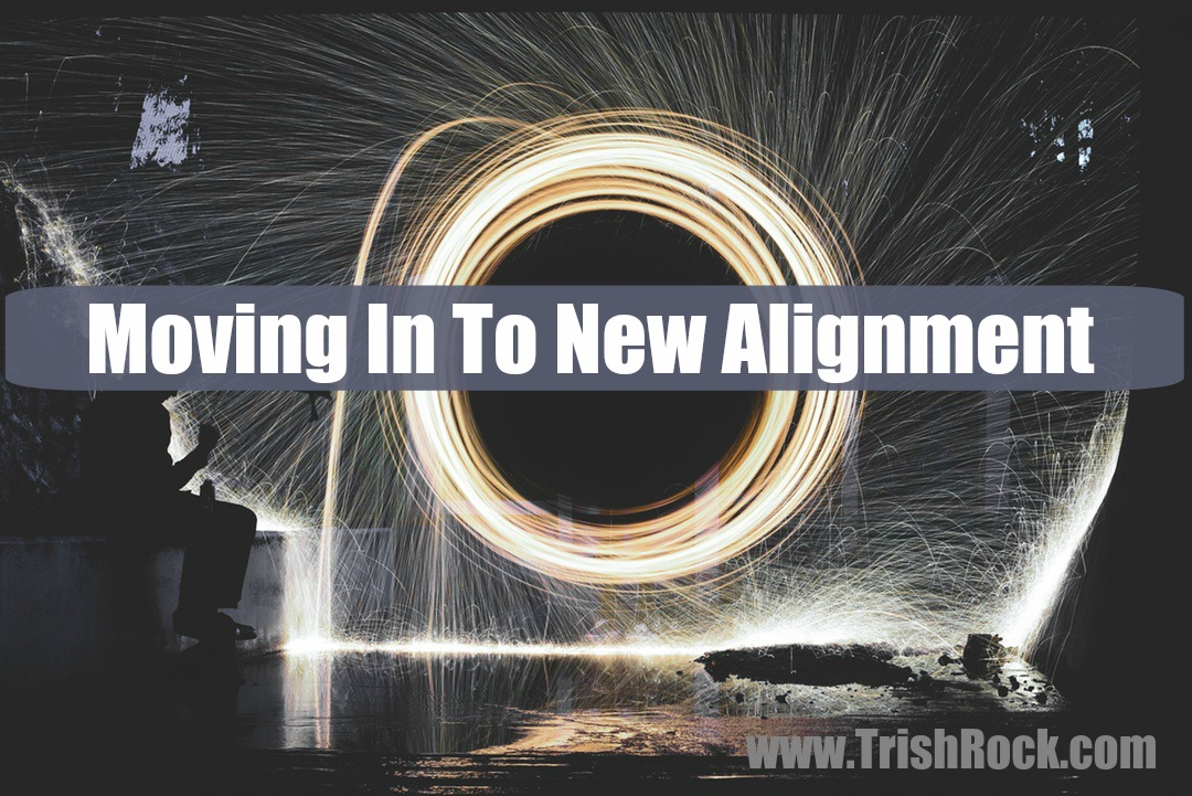 Moving In To New Alignment