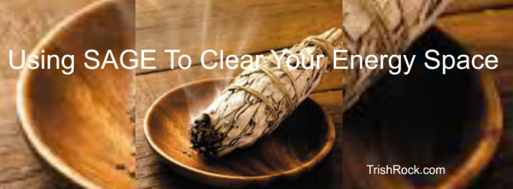 Clearing Energy Using Sage Sticks